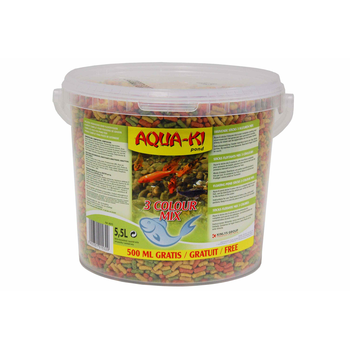 AQUA-KI STICKS 3 KLEUREN MIX 5 L + 0,5 L GRATIS
