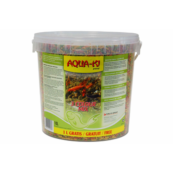 AQUA-KI STICKS 3 KLEUREN MIX 10 L + 1,0 L GRATIS